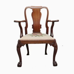 18th Century Walnut Armchair