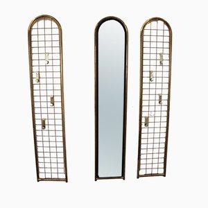 Specchi vintage, anni '70, set di 3