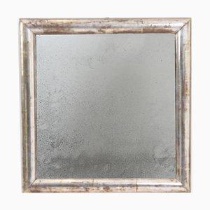 Small Silver Leaf Mirror