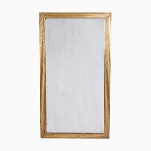 French Giltwood Mirror with Reeded Frame