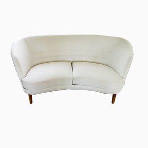 Schwedisches Geschwungenes Mid-Century Sofa und Sessel von OPE, 1950er