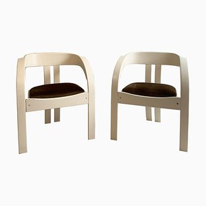 Mid-Century Elisa Chairs by Giovanni Bassi for Poltronova, Set of 2
