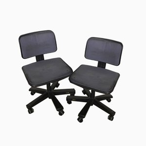 Swivel Chairs from Olivetti Synthesis, 1960s, Set of 2