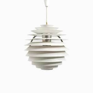 Danish Model PH Louvre Pendant Lamp by Poul Henningsen for Louis Poulsen, 1960s