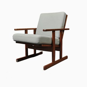 Oak Armchair by Jørgen Baekmark for FDB Mobler, 1950s