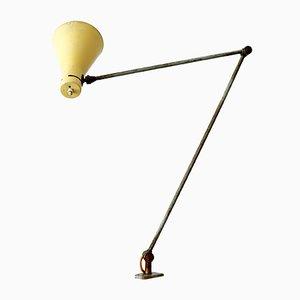 Lampada da tavolo regolabile con morsetto di Vittoriano Vigano per Arteluce, Italia, anni '50