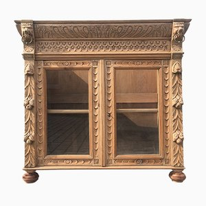 19th Century Solid Oak Cabinet