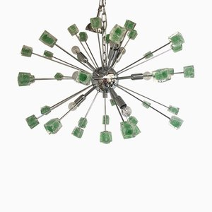 Sputnik Chandelier with Murano Glass from Italian Light Design