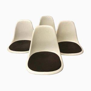 Sedia da pranzo DSS in fibra di vetro di Charles & Ray Eames per Herman Miller, anni '70