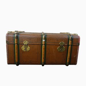 Antique Art Nouveau German Travel Case, 1900s