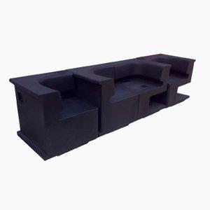 Maxò Modular Polyethylene Armchair by Robby Cantarutti & Francesca Petricich for Arrmet Italy
