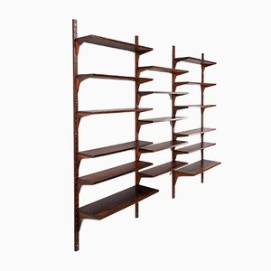 Mid-Century Rosewood Veneer Shelf by Poul Cadovius for Royal Systems, 1950s
