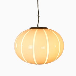 Vintage Glass Ceiling Lamp from Venini, 1960s