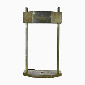 Bauhaus German Nickel Table Lamp by Marcel Breuer, 1920s