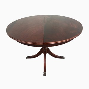 Extendable Round Dining Table, 1970s