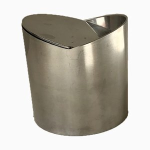 Minimalist Danish Stainless Steel Ashtray by Roelandt for Stelton, 1980s