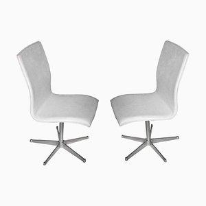 Dänische Modell Oxford Stühle von Arne Jacobsen für Fritz Hansen, 1965