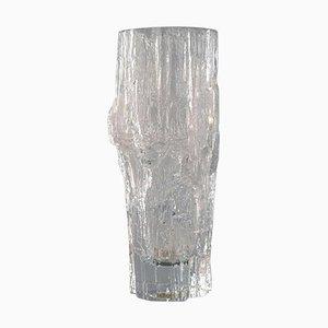 Finnische Iittala Tapio Wirkkala Kunstglas Vase, 1960er