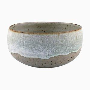 Alev Ebüzziya Siesbye for Royal Copenhagen Stoneware Circular Bowl, 1960s