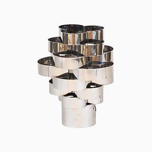 Multilanged Tischlampe aus Aluminium Zugeschnitten auf Max Sauze, 1970er