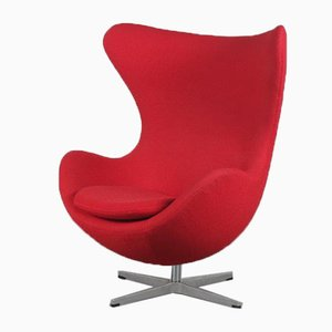 Egg Chair by Arne Jacobsen for Fritz Hansen, Denmark, 1980s