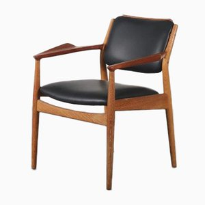 Teak Side Chair by Arne Vodder for Sibast, Denmark, 1950s