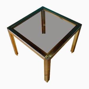 Italian Chrome Side Table by Renato Zevi for Romeo Rega, 1970s