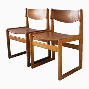 Mid-Century Danish Dining Chairs in the Style of Borge Mogensen from Kvetny & Sønners, 1960s, Set of 4