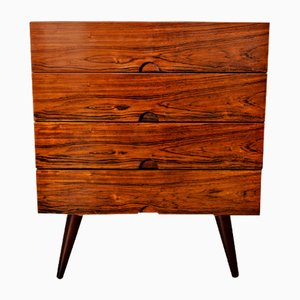 Vintage Danish Rosewood Chest of Drawers