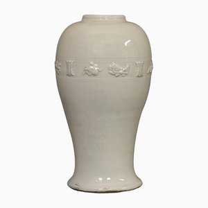 19th Century Celadon Ceramic Vase