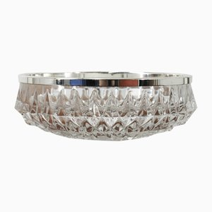 Vintage German Crystal Bowl from WMF, 1970s