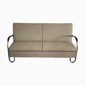 Mid-Century Dutch Model 444 Sofa by Willem Hendrik Gispen for Dutch Originals