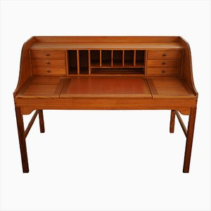 Mid-Century Desk by F.N. Hansen for Hadsten Traeindustri