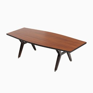 Rosewood Conference Table by Ico Luisa Parisi for MIM, 1960s