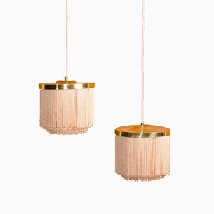 Model T605 Ceiling Lamps by Hans-Agne Jakobsson for Hans-Agne Jakobsson AB Markaryd, 1960s, Set of 2