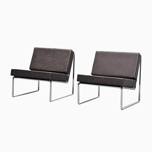 Model 024 Lounge Chairs by Kho Liang Ie & Wim Crouwel for Artifort, 1960s, Set of 2
