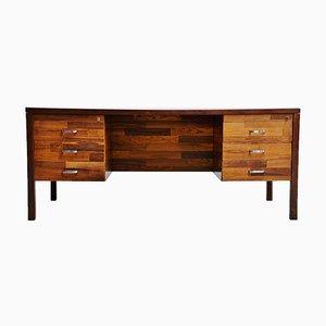 Rosewood Desk by Jorge Zalszupin for L'Atelier San Paulo, 1960s
