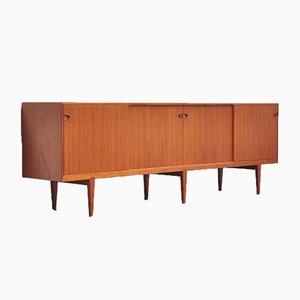Dänisches Teak Sideboard von Henry Rosengren Hansen für Brande Møbelindustri, 1960er