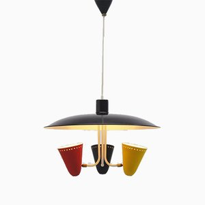 Ceiling Lamp by H. Th. J. A. Busquet for Hula Zeist, 1950s