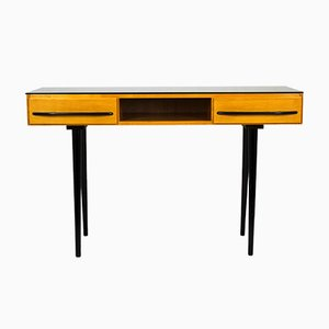 Mid-Century Desk or Console Table by Mojmír Požár for UP Bučovice, 1960s