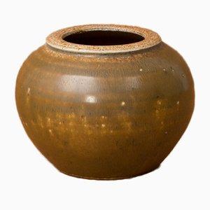 Kleine Steingut Vase von Antoine de Vinck, 1960er