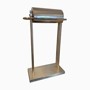 Nickel Paris Exposition Table Lamp by Marcel Breuer, Germany, 1925