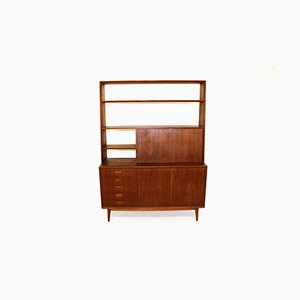 Swedish Dresser and Shelf, 1960s