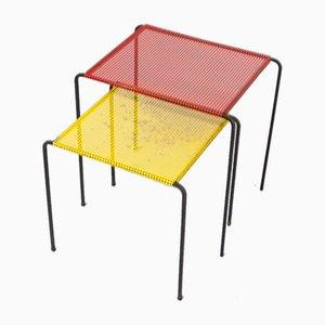 Metal Side Tables, 1960s, Set of 2
