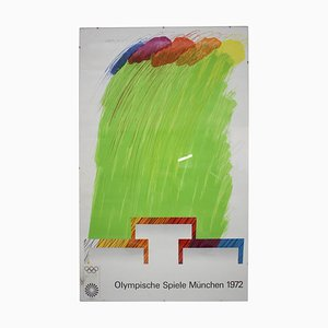 Olympic Games Munich Poster, 1972