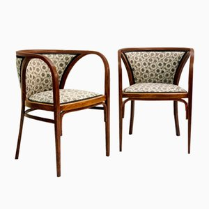 Armchairs by Marcel Kammerer, Austria, 1905, Set of 2