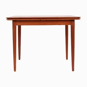 Danish Teak Extendable Dining Table from Skovmand & Andersen, 1960s