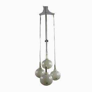 Vintage Ball Pendant Lamp from Doria Leuchten, 1960s