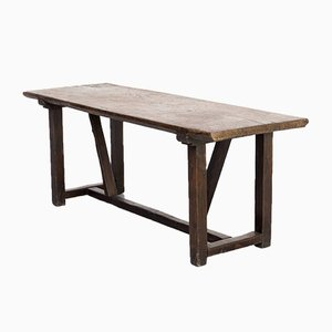 18th Century Rustic Oak Dining Table