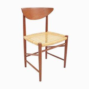 Modell 316 Stühle von Peter Hvidt & Mölgaard Nielsen für Søborg Møbelfabrik, 1950er, 2er Set